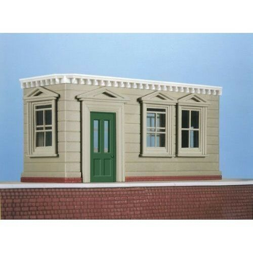 Island Platform Shelter 1//76 Scale Plastic Kit Tracked 48 Post Wills SS78