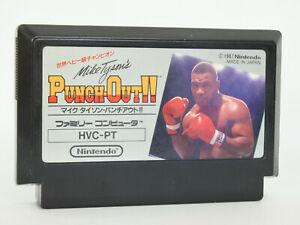 Famicom-PUNCH-OUT-Mike-Tyson-039-s-Cartridge-Only-Nintendo-fc