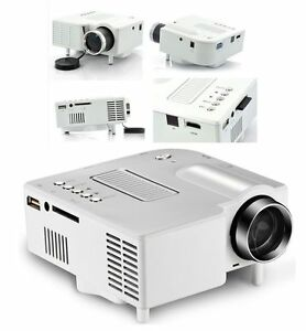 The latest uc28 led mini projector home android apple for Apple projector price