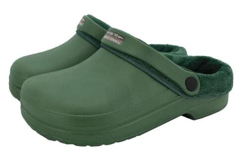 Town /& Country Polaire Cloggies Green taille UK 10