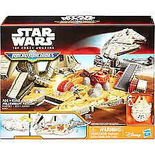 STAR WARS The Force Awakens Micro Machines Millennium Falcon Play Set NEW