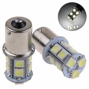LED-TURN-TAIL-LIGHT-BULBS-BA15S-1156-X-2-13-LED-Bayonet-Bulb-Light-Reverse-T25