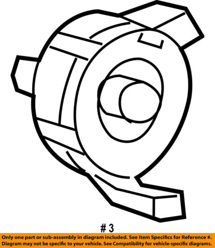 GM OEM Airbag Air Bag-Clockspring Clock Spring 19180232