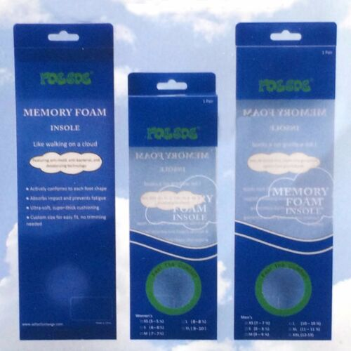 Anti Mold Bacterial /& Deodorizing For Men /& Women RocSoc Memory Foam Insole