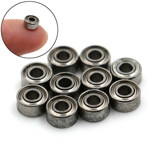 10Pcs 2*5*2.5Mm Miniature Precision Bearing Mr52Zz For Spinner Bearing JE