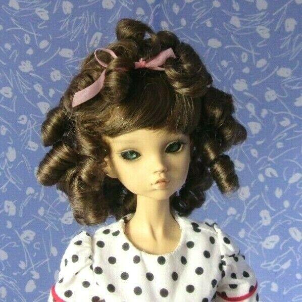 Monique CHARMAINE  Lt. Brown Full Adj. Cap Doll Wig Size 6-7  Classic, Darling