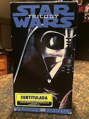 Star Wars VHS - with Spanish subtitles, Rare!!