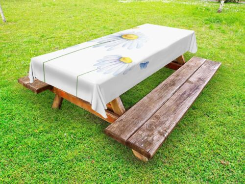 Spring Dragonfly Outdoor Picnic Tablecloth in 3 Sizes Washable Waterproof