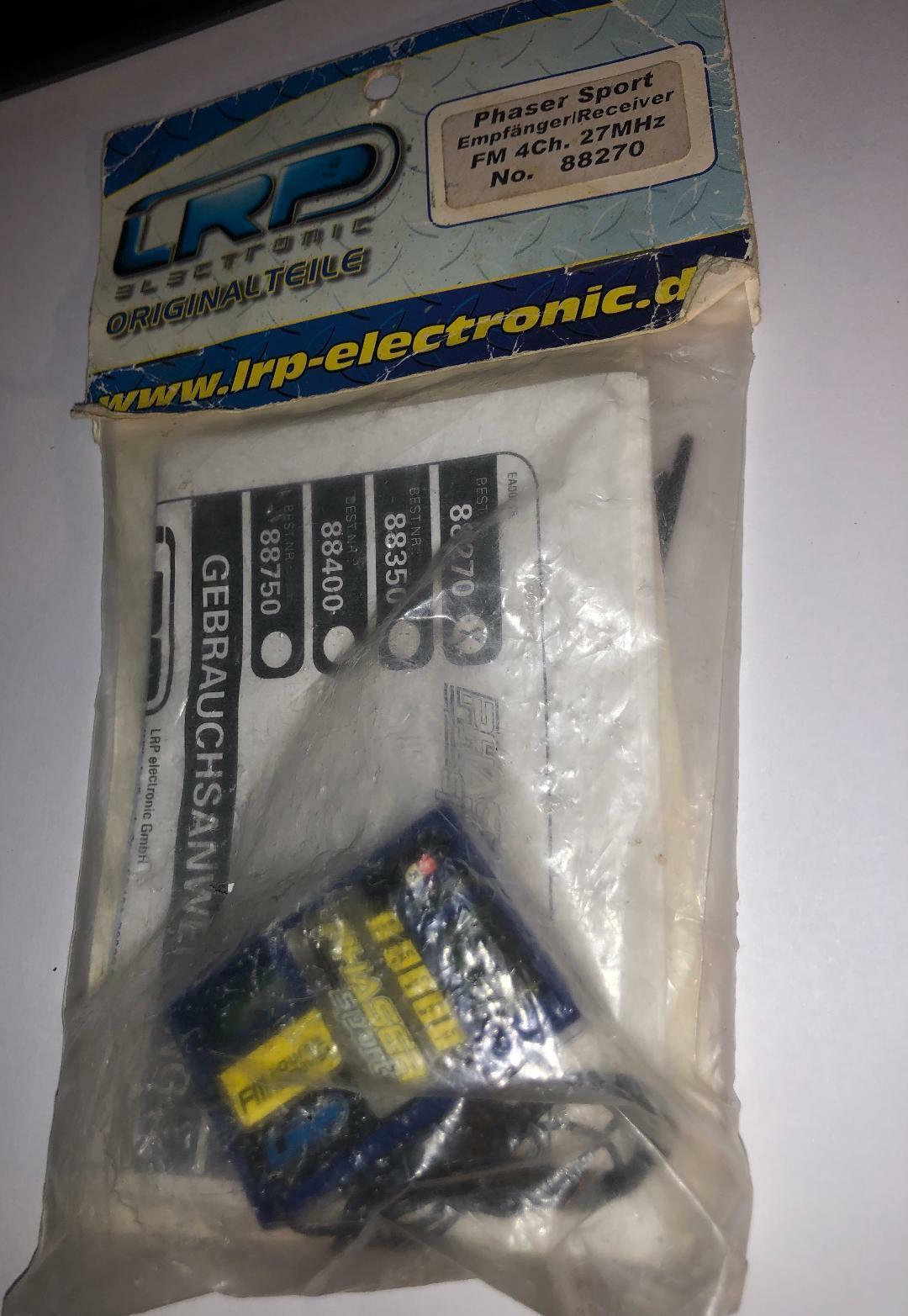 LRP 88270 Phaser Sport Receiver 4CH  FM 27HMHz BC  ottima selezione e consegna rapida