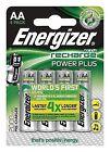 Energizer Power Plus AA 2000 mAh Rechargeable Batteries Pack - 4 Piece