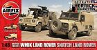 Airfix A06301 British Forces Land Rover Twin 1 48 Scale Series 6 Plastic Model K