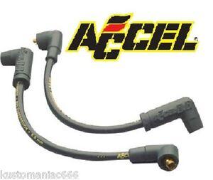 Set-cavi-candele-Accel-8-mm-300-x-Harley-Davidson-Dyna-99-up-e-Buell-99-02-NEW