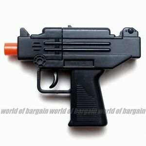 UZI-SUB-MACHINE-GUN-Super-Toy-Cap-Gun-Revolver-8-Shot-Ring-Caps-Kids-Handgun-T14