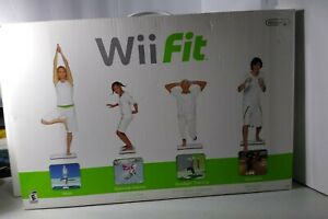 Nintendo Wii Fit Balance Board and Video Game Bundle - NEW