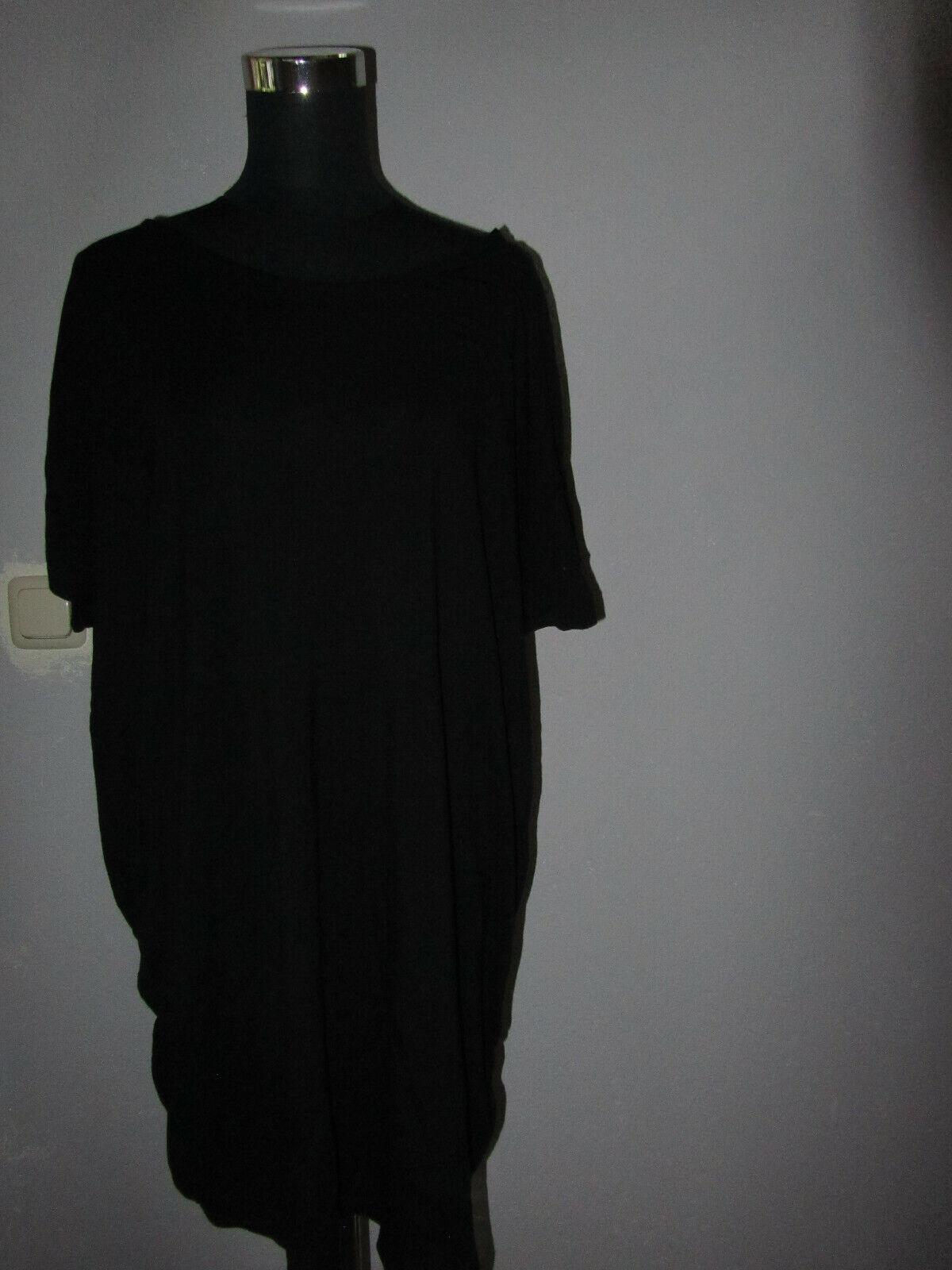Taubert Bigshirt Gr. 44 schwarz Viskose/ neuw.