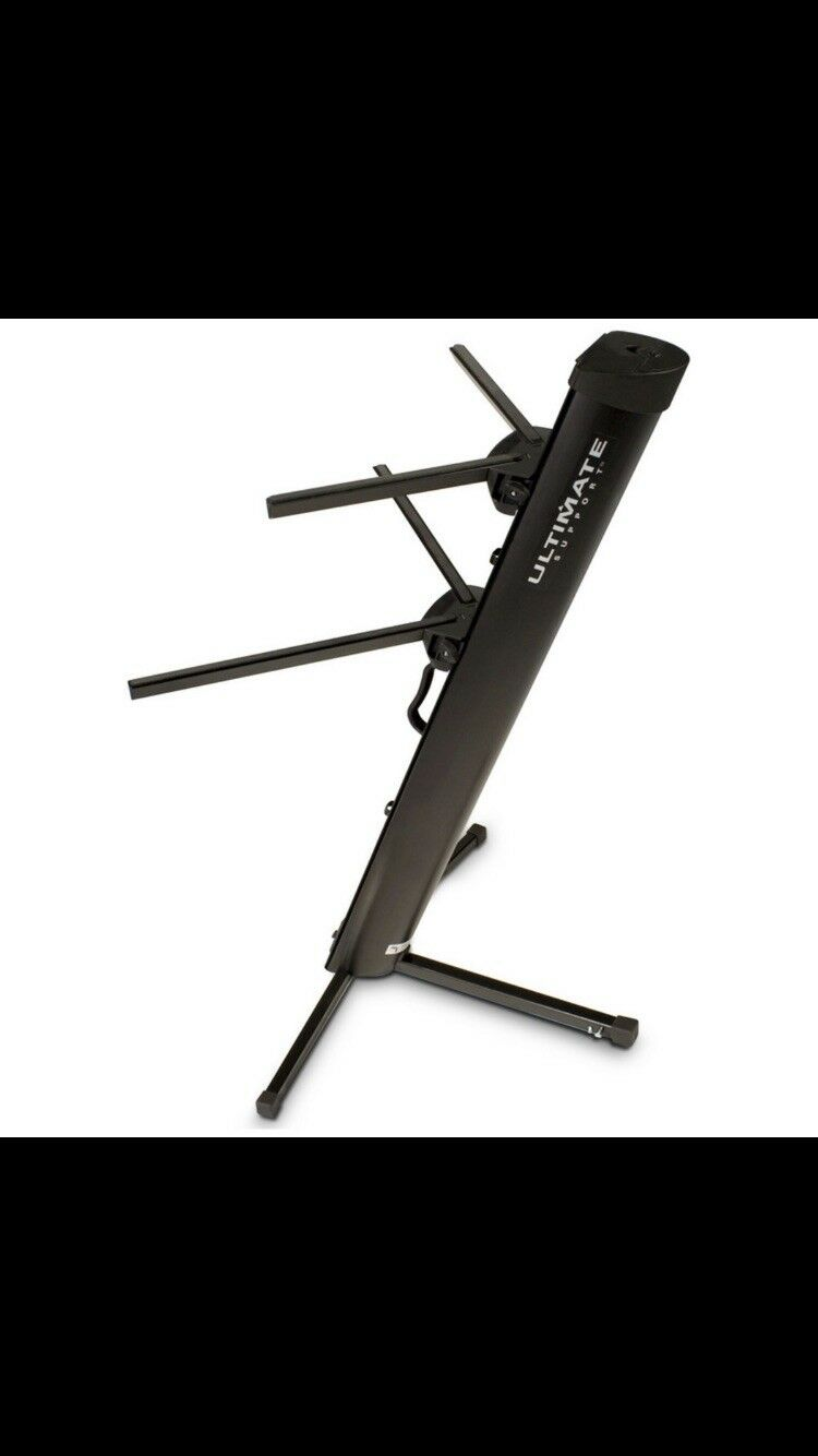 Ultimate Support AX48PRO Two-Tier Column Keyboard Stand