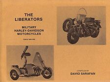Sarafan ~ The Liberators MILITARY HARLEY-DAVIDSON MOTORCYCLES ~ 1st Ed 1986