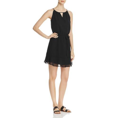 Cupcakes and Cashmere Womens Kayden Black Blouson Casual Mini Dress L BHFO 9992