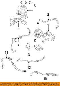 toyota oem power steering pressure hose 4441133040 ebay rh ebay com toyota camry power steering hose replacement 2003 toyota camry power steering diagram