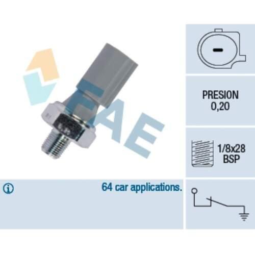 Öldruckschalter Öldrucksensor FAE 12830