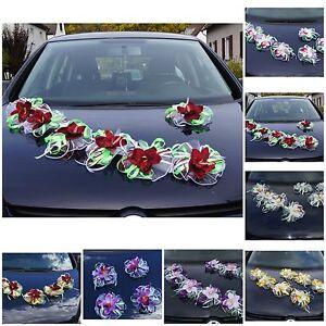 7 St Auto Schmuck Orchidee Blumen Braut Dekoration Autoschmuck