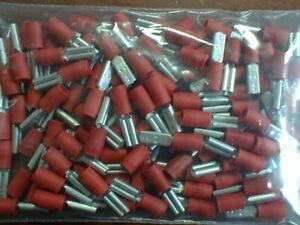 100 Stück Flachsteckhülse Kabelschuhe 2,8 mm für 0,5-1 mm² NEU qmm