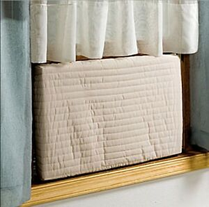 Indoor-Air-Conditioner-Cover-Quilted-Elasticized-Covers-Protect-Air-Condition