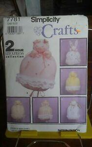 Oop-Simplicity-Crafts-7781-Wendy-Everett-Bunting-Baby-Angel-Animals-NEW