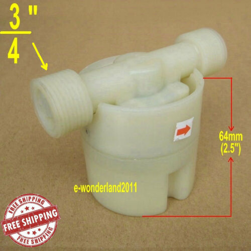 """WATER TOWER WATER TANK FLOAT VALVE 3//4/""""ABS AUTOMATIC WATER LEVEL CONTROL VALVE"""