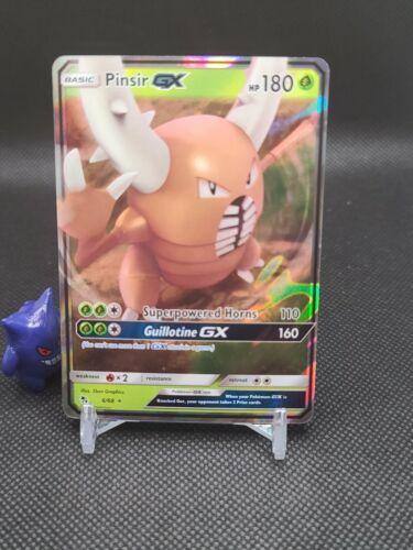 Pokemon - Pinsir Gx 6/68 Ultra Rare Hidden Fates Near Mint