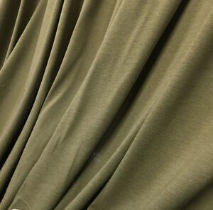 Organic Cotton Jersey Knit Fabric Ecofriendly Eko Certified 7 Oz