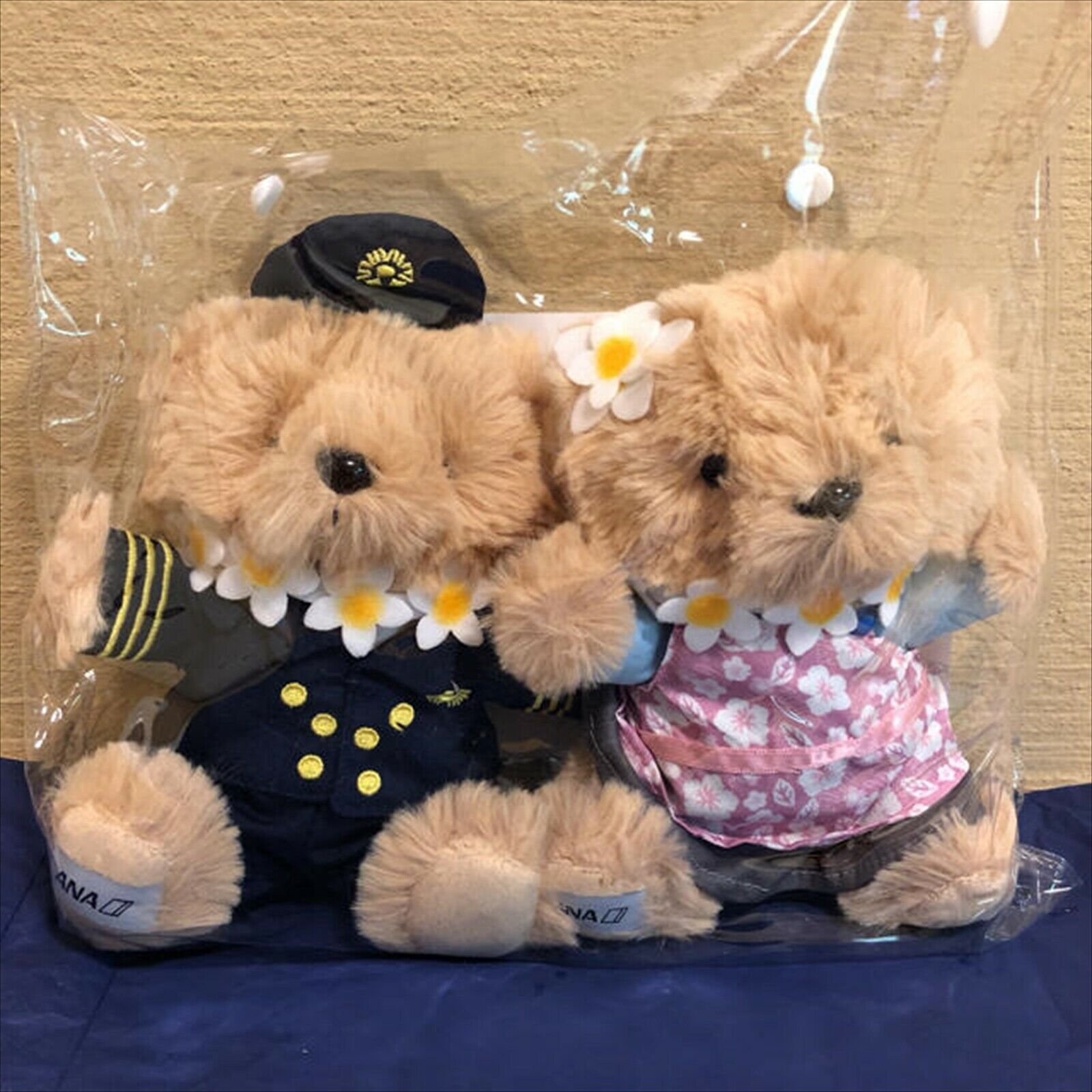 ANA Flight Bear in Hawaii International Flight In-Flight Sales Limited Item
