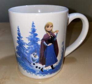 "Disney MUG FROZEN Elsa And Anna 3"" Tall Small Ceramic 2.5"" diameter"