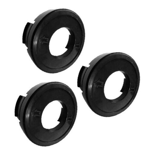 3x Replacement String Trimmer Bump-Cap For ST4500 Black/&Decker 682378-02