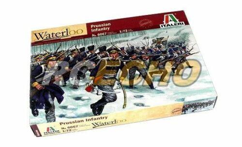 ITALERI Waterloo 1//72 Napoleonic Wars Prussian Infantry Scale Hobby 6067 T6067