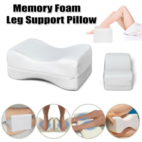 Bed Pillow Memory Foam Body Positioner Elevate Support Neck Pain Leg Restoration