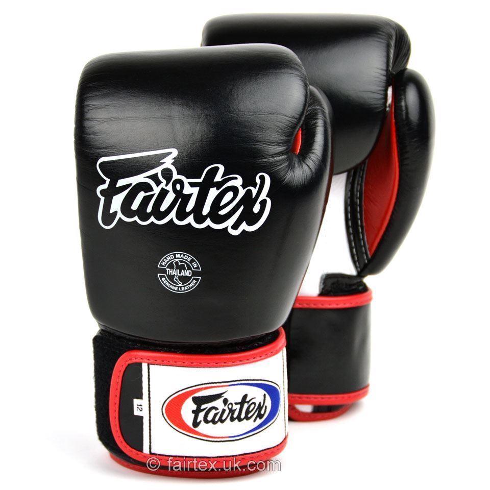 Fairtex 3 Toni Guantoni Box Nero Muay Thai Sparring MMA