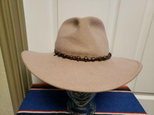 Vtg Serratelli Western Hat No Size Fits Like 7 1/2