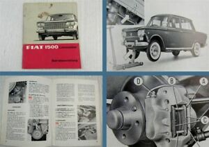 Fiat-1500-Limousine-PKW-Betriebsanleitung-Bedienungsanleitung-11-1964