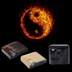 2x Wireless Car door LED Projector Logo ghost shadow laser light Fire Taiji Logo