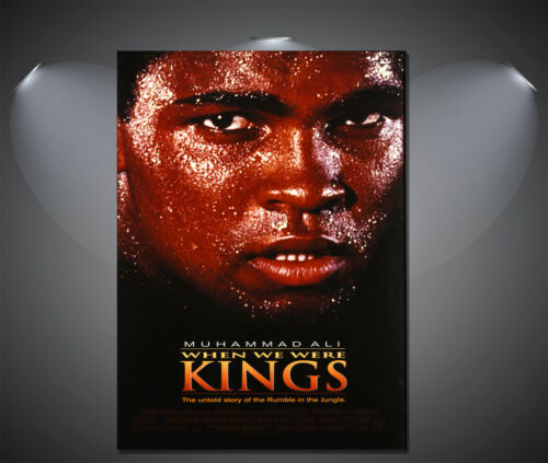 A2 A4 available muhammad ali when we were kings Vintage Movie Poster A1 A3
