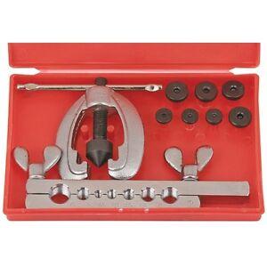 10pc Metric Pipe Flaring Tool Kit Mechanic Brake Plumber