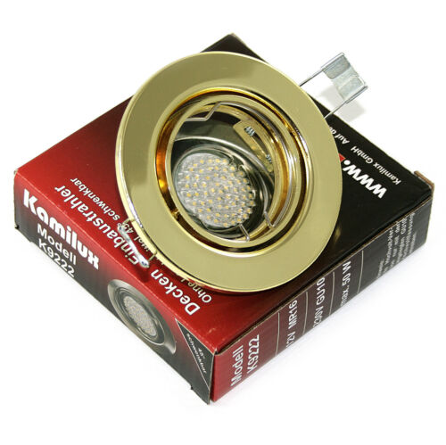 Deckeneinbaustrahler Lia ohne Halogen Led Leuchtmittel GU10 oder MR16