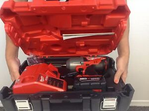 """NEW Milwaukee 2763-22 M18 FUEL 1/2"""" High-Torque Impact Wrench with Ring Kit"""
