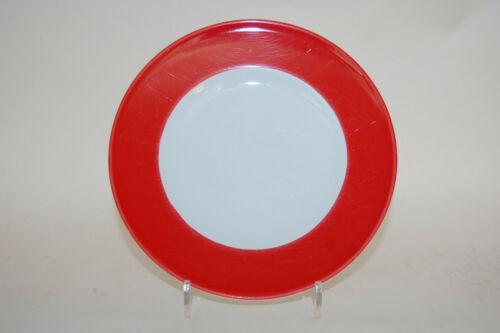 Teller Kuchenteller 19 cm Solid Color Rot Signalrot Dibbern