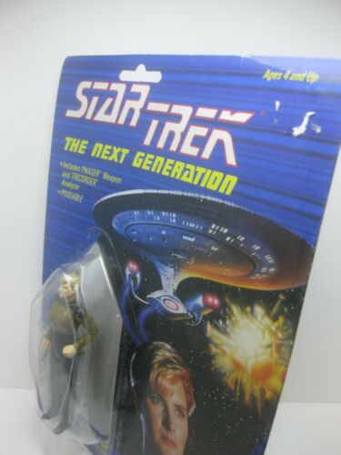Unopened Star Trek The Next Generation Action Figure 1988 Galoob