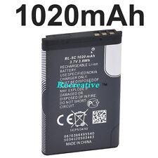 Genuine New OEM BL-5C Battery for Nokia 2310, 3100, 6030, 6230, 3120, 1020mAh