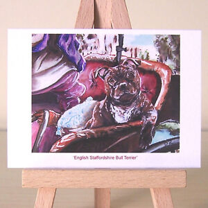 English-Staffordshire-Bull-Terrier-John-Constable-painting-style-Staffy-ACEO