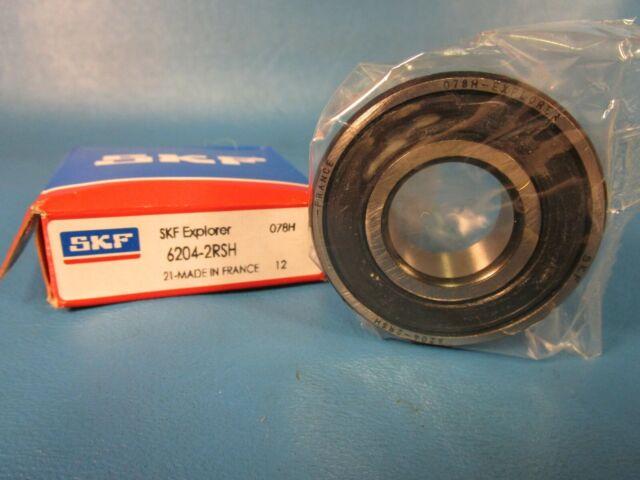 SKF 6204-2RSH//C3 Single Row Ball BRGS Factory New