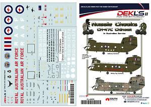 1-48-Decals-Australian-CH-47C-Chinook-RAAF-12-SQN-3-Options-DEKL-039-s-II